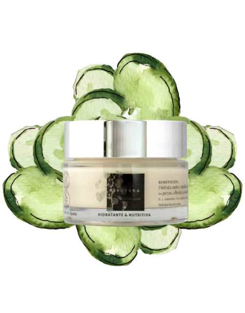 crema facial hidratante - cosmética natural certificada