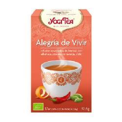 YOGI TEA ALEGRIA DE VIVIR