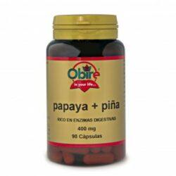Papaya y piña Obire