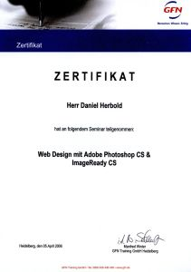 Teilnahme Schulung Adobe Photoshop