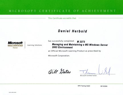 Microsoft Certification Windows Server
