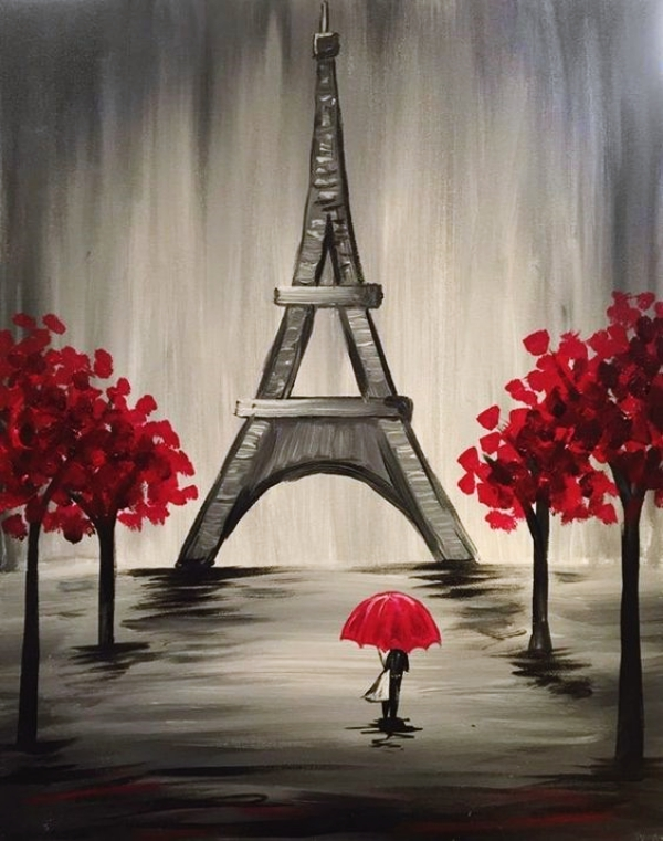 65 Simple And Beautiful Acrylic Painting Ideas For Beginners Hercottage