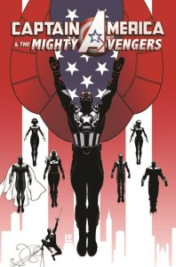 Captain America and the Mighty Avengers #1 cover art by Luke Ross Credit: Comic Book Resources