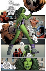Mighty Avengers #5 interior art by Greg Land Credit: Chasing Amazing