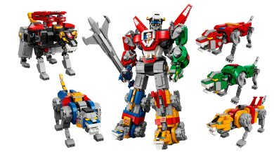 Photo of LEGO Voltron: Defender of The Universe lands in Singapore Aug 1