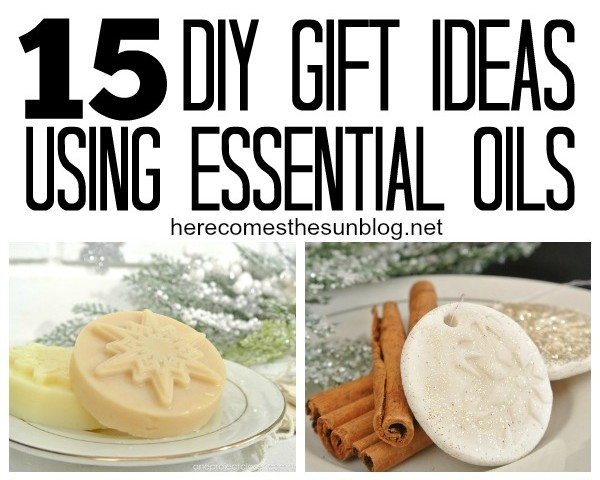 15 DIY Essential Oil Gift Ideas Here Comes The Sun