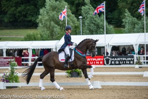 Charlotte Dujardin with Valegro.