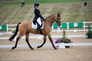 Herefordshire rider Harriett Beaumont with her CCI 1* ride Annaghmore Bonita