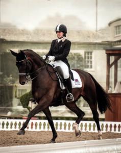 Lucy Pincus, Hartpury Equine Academy's new dressage scholar for 2015-16.