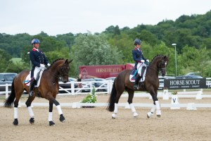 Carl Hester and Charlotte Dujardin