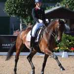 Superstar Spencer finishes Hartpury's Festival of Dressage in fine style