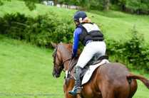 Wilberry Wonder Pony goes XC with Ben Hobday