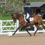 Powys Event Rider Franky Reid-Warrilow & Dolley Whisper in the Lead NAF Hartpury Horse Trials