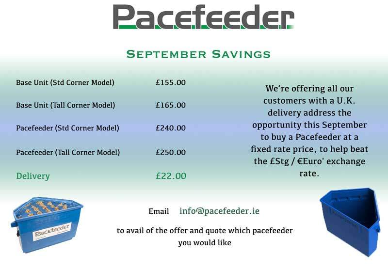 Pacefeeder September-UK-Promotion