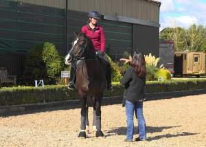 Valegro ridden by Lucy Scudamore