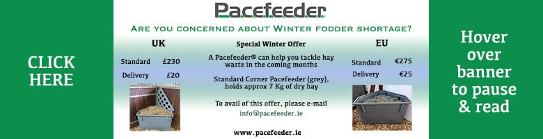 Pacefeeder natural hay feeder