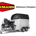 Böckmann Champion Kutsche C Horse trailer for two horses and a carriage.