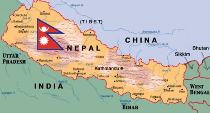 Image result for nepal map