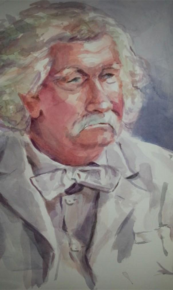 Tony Twain painting