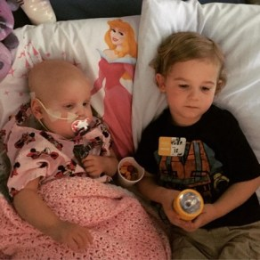 Brother with sister battling cancer