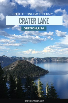 1-Day Itinerary in Crater Lake