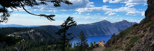 Crater Lake - Garfield Peak Trail