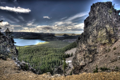 Bend, Oregon - Newberry Volcanic National Monument