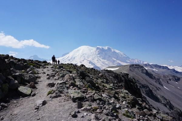 Mt. Rainier - Burroughs Mountain Trail