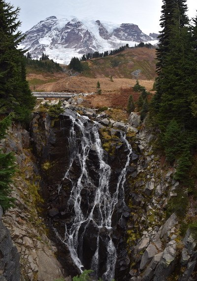 Myrtle Falls in Mt. Rainier