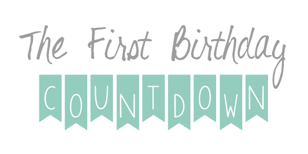 The first birthday countdown