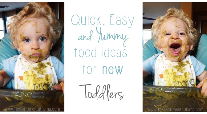Yummy Food for New Toddlers via The Sentimental Mama