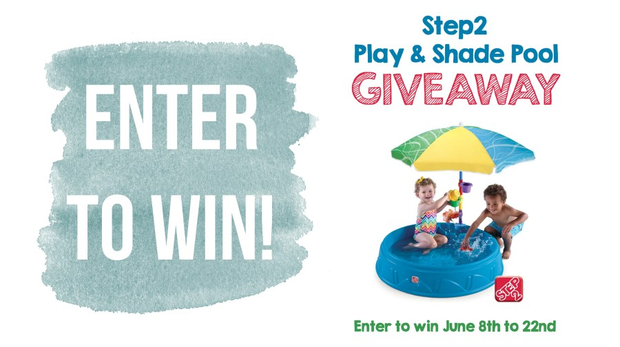 Enter to win Step2 Play & Shade Pool