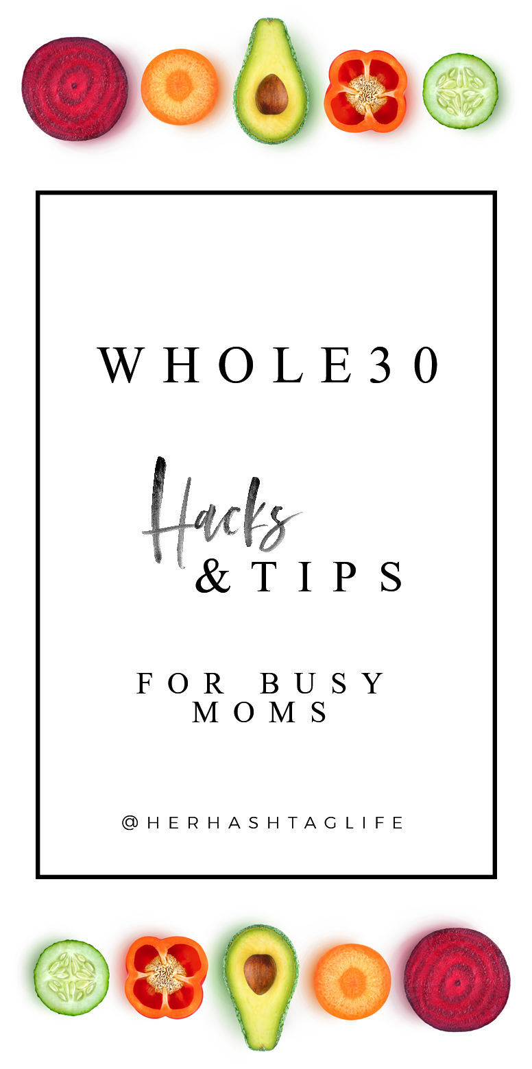 Whole30 Hacks & Tips for Busy Moms by Her Hashtag Life