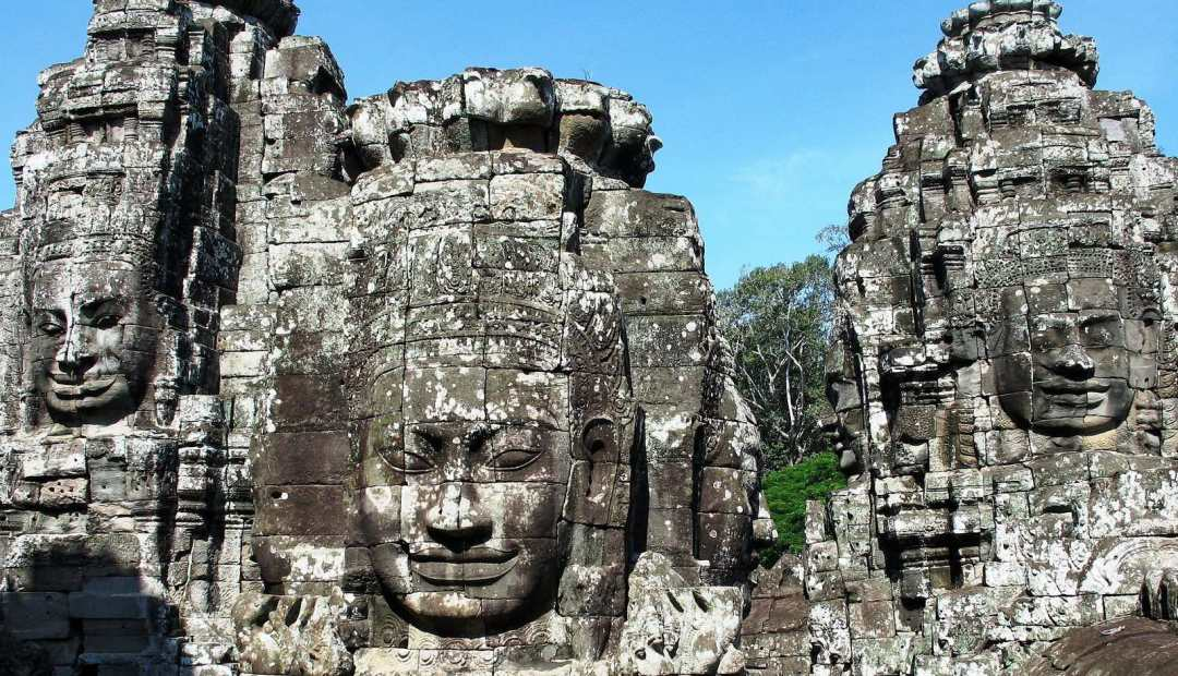 Bayon: face towers ...