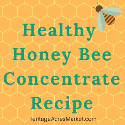 honey bee healthy Recipe