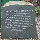Leyland Clock - About