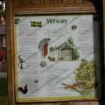 Wreay information board