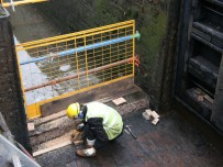 The lock gates will be repaired using sustainably sourced oak - Pic British Waterways