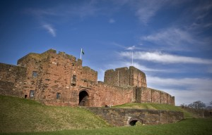 A view of Carlisle Castle today - Pic English Heritage