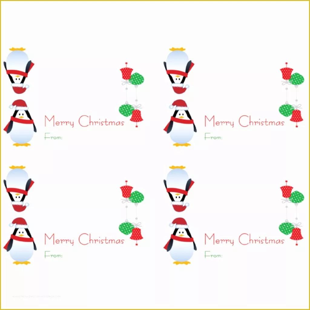 42 Free Printable Christmas Bag Toppers Templates