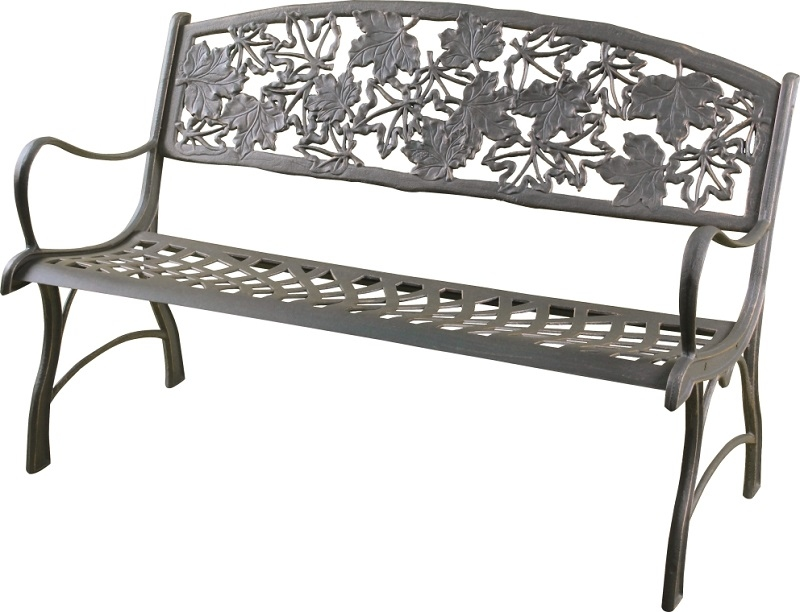 cast iron bench seat store