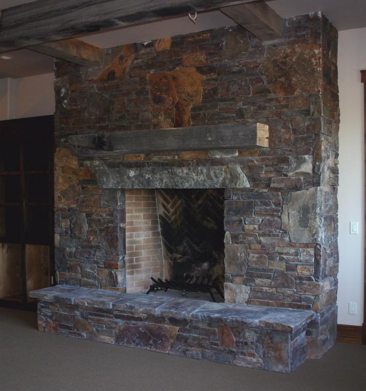 Stone Fireplace Mantel Ideas
