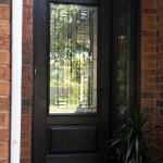 ¾ glass door fibreglass door