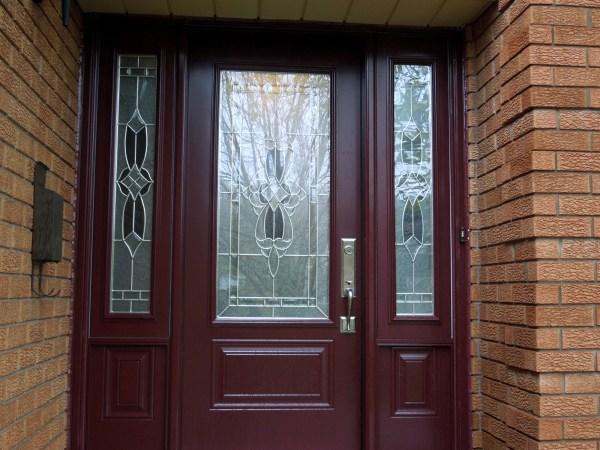 Post renovation - New front door