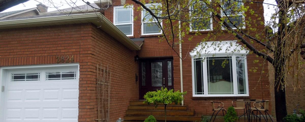 Post renovation - Garage and front door