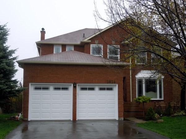 Post renovation - Garage doors