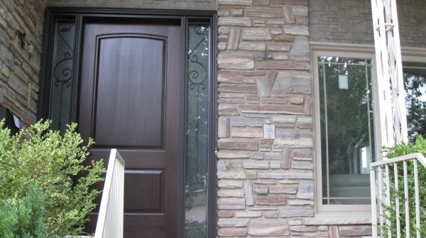 Bold and stylish new front door
