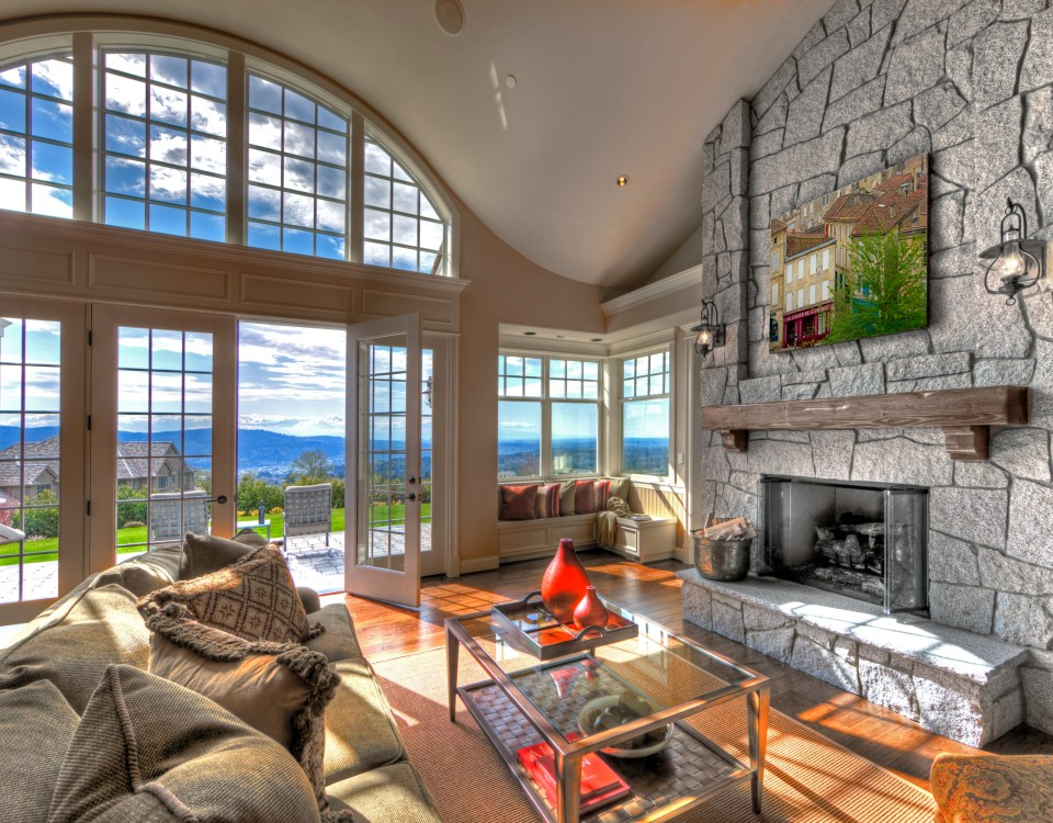Cape Cod living room