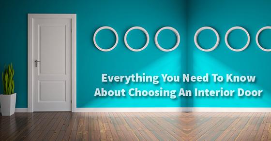 Choosing An Interior Door