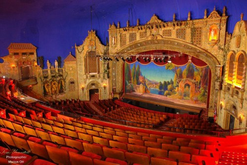 Best Historic Theatres in Ohio- The Marion Palace Theater